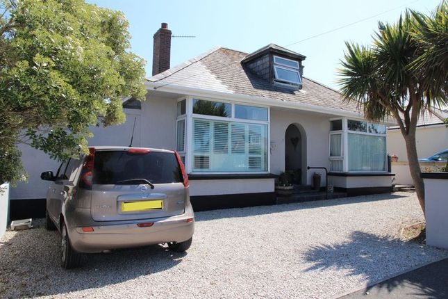 Thumbnail Detached bungalow for sale in Godolphin Way, Newquay