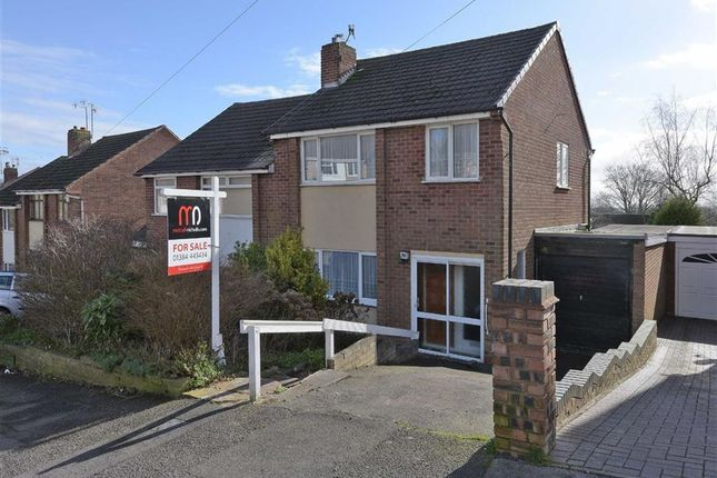 Thumbnail Semi-detached house for sale in Longfellow Road, Lower Gornal, Dudley, West Midlands