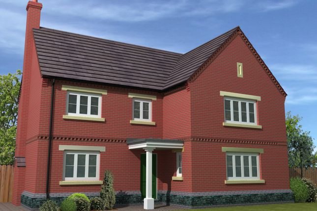 Thumbnail Detached house for sale in Off Kinross Way, Hinckley