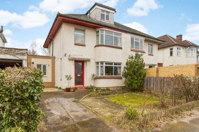 Thumbnail Semi-detached house for sale in Templar Road, North Oxford