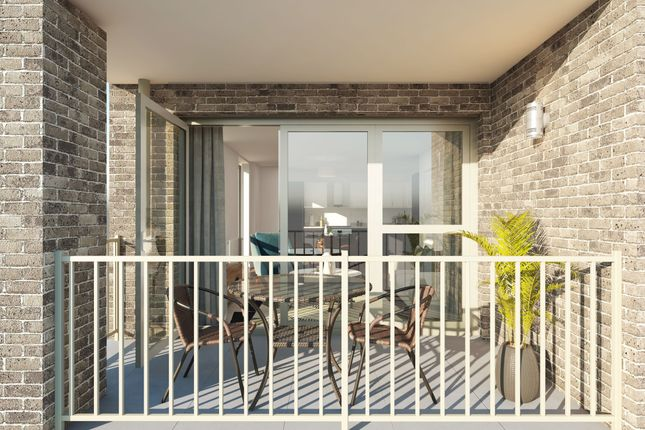 Thumbnail Flat for sale in Armstrong Road, Littlemore, Oxford