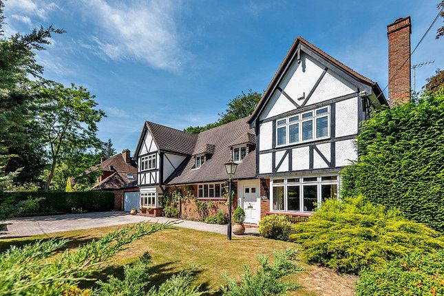 Thumbnail Detached house for sale in Nuns Walk, Virginia Water, Surrey