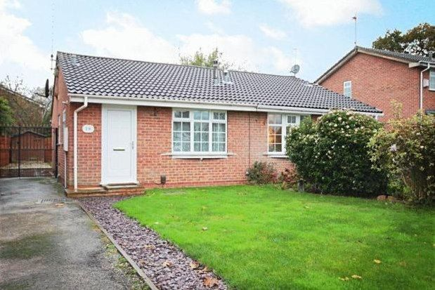 Thumbnail 2 bed bungalow to rent in Alvaston, Derby