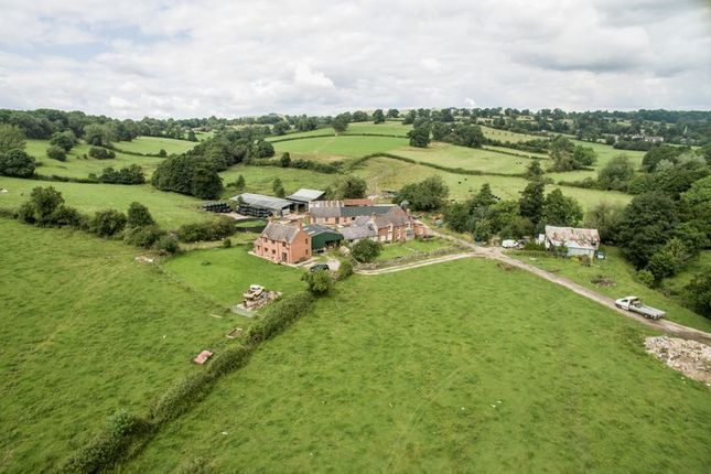 Thumbnail Farmhouse for sale in Fenny Bentley, Ashbourne