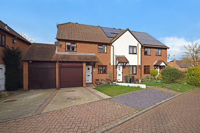 Thumbnail End terrace house for sale in Reedmace Close, Singleton, Ashford