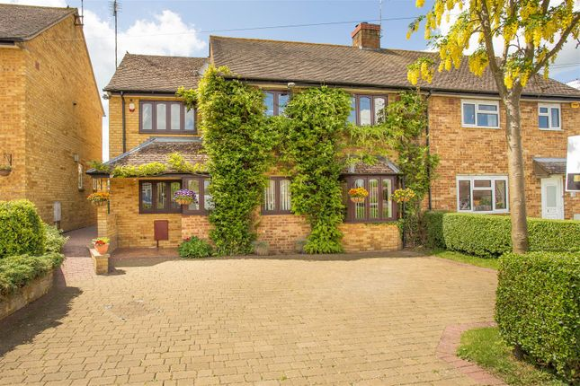 Thumbnail Semi-detached house for sale in Goss Avenue, Waddesdon, Aylesbury