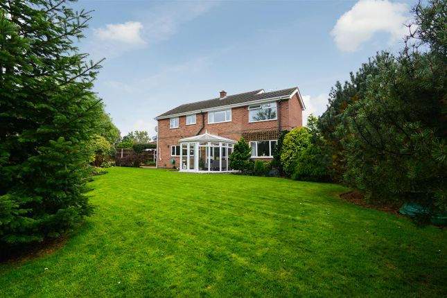 Thumbnail Detached house for sale in Beaumont Close, Keyworth, Nottingham