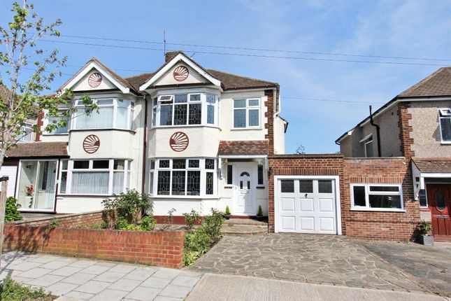 Thumbnail Semi-detached house to rent in Goodwood Avenue, Hornchurch