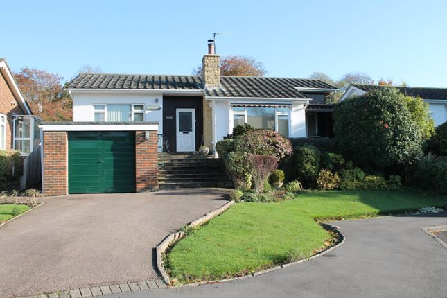 Thumbnail Detached bungalow for sale in Holmcroft Gardens, Findon Village