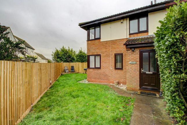 Thumbnail 2 bed terraced house for sale in Valens Close, Crownhill, Milton Keynes