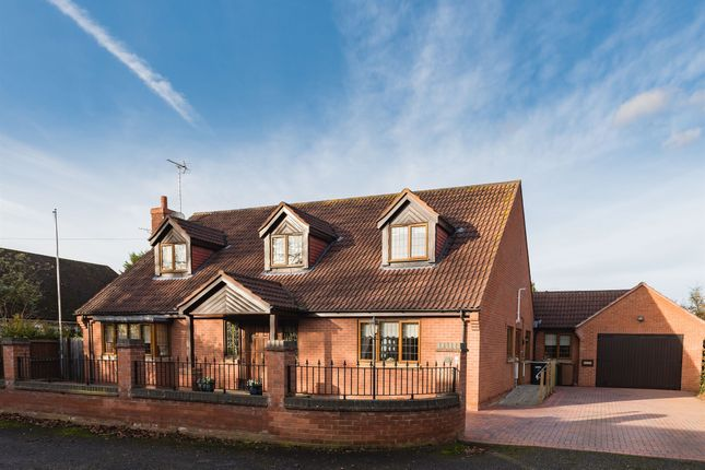 Thumbnail Detached house for sale in Orchard Close, Peterborough
