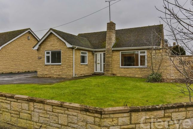 Thumbnail Detached bungalow for sale in Evesham Road, Bishops Cleeve, Cheltenham