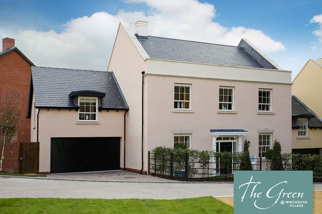 """Thumbnail Detached house for sale in """"The Wickham @ The Green"""" at Pitt Road, Winchester"""