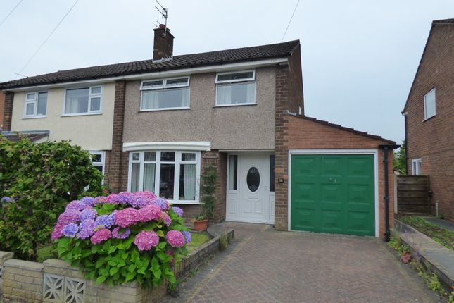 Semi-detached house for sale in Penrhyn Crescent, Hazel Grove, Stockport