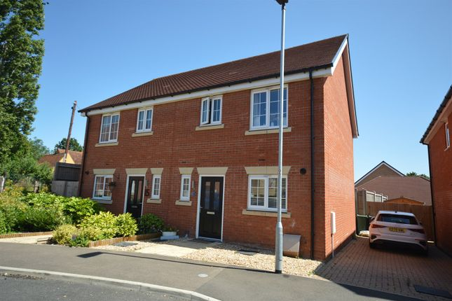 Thumbnail Semi-detached house for sale in Nightingale Drive, Halstead