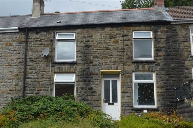 Thumbnail Terraced house to rent in East Road, Ferndale, Tylerstown