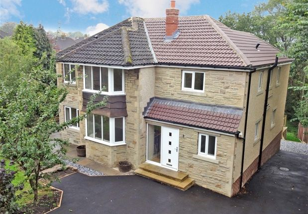 Thumbnail Detached house for sale in South Grove, Nab Wood, Shipley