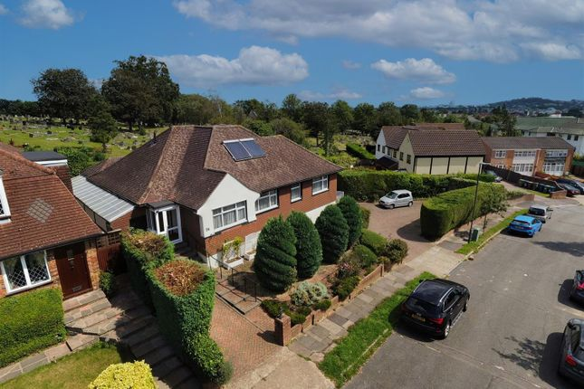 Thumbnail Detached bungalow for sale in Capel Gardens, Pinner