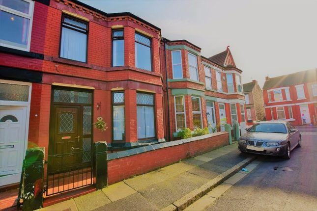 Thumbnail Terraced house for sale in Wordsworth Avenue, Birkenhead