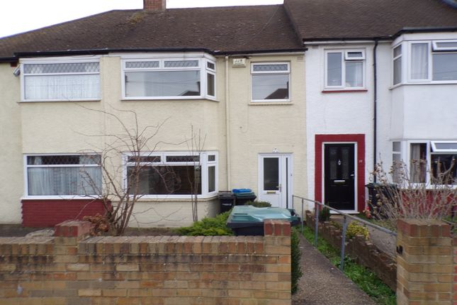 Thumbnail Terraced house to rent in Wye Road, Gravesend