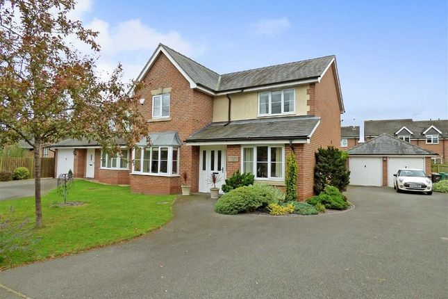 Thumbnail Detached house for sale in Colleys Lane, Willaston, Nantwich