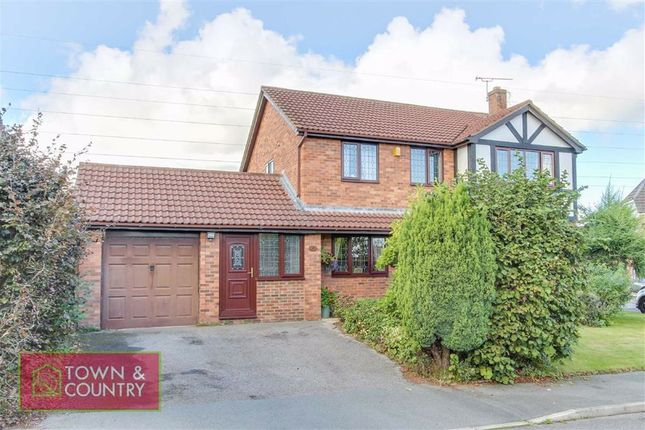 4 bed detached house for sale in The Highcroft, Connah's Quay, Deeside, Flintshire CH5