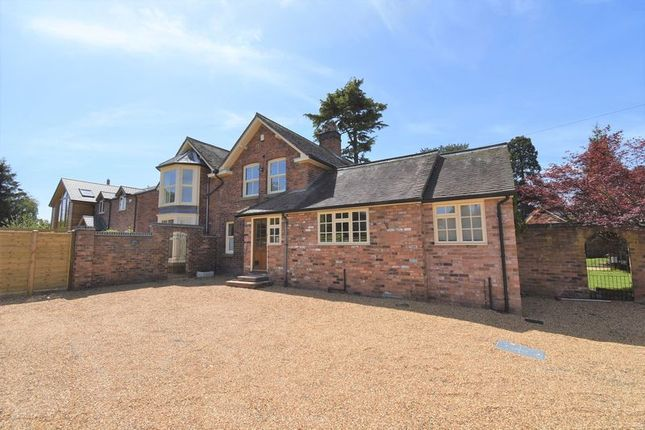 Thumbnail Detached house for sale in Silverdale, Station Road, Admaston, Telford