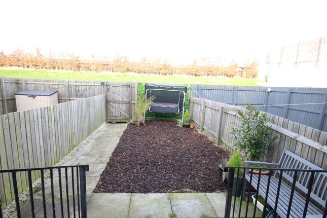 Rear Garden of Dovestone Way, Kingswood, Hull HU7
