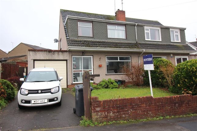 Thumbnail Semi-detached house for sale in Courtfield Grove, Fishponds, Bristol