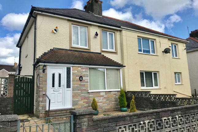 Thumbnail Semi-detached house for sale in St Margarets Avenue, Jersey Marine, Neath