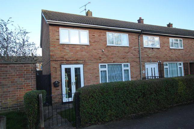 3 bed end terrace house for sale in All Saints Road, Houghton Regis, Dunstable LU5
