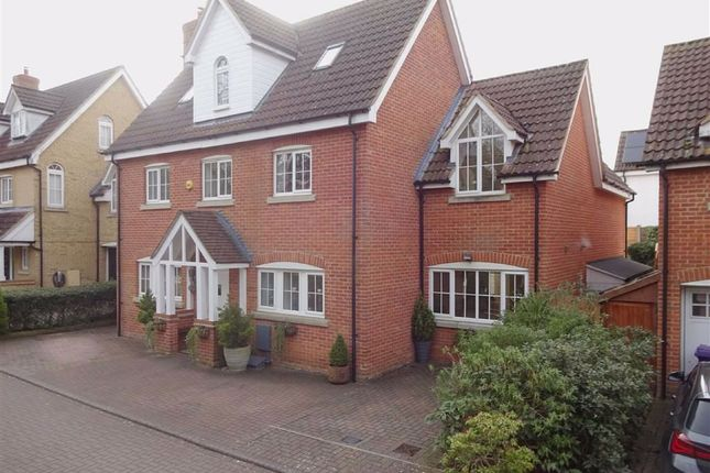 Thumbnail Detached house for sale in Cleveland Way, Great Ashby, Stevenage, Herts