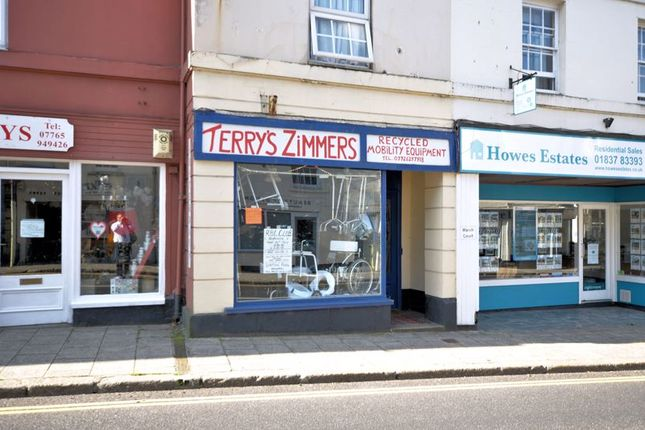 Thumbnail Retail premises for sale in March Court, East Street, Okehampton