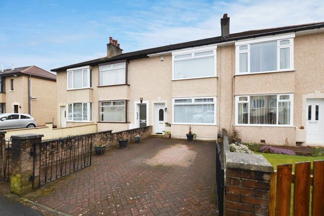 Thumbnail Terraced house for sale in Wallace Road, Renfrew