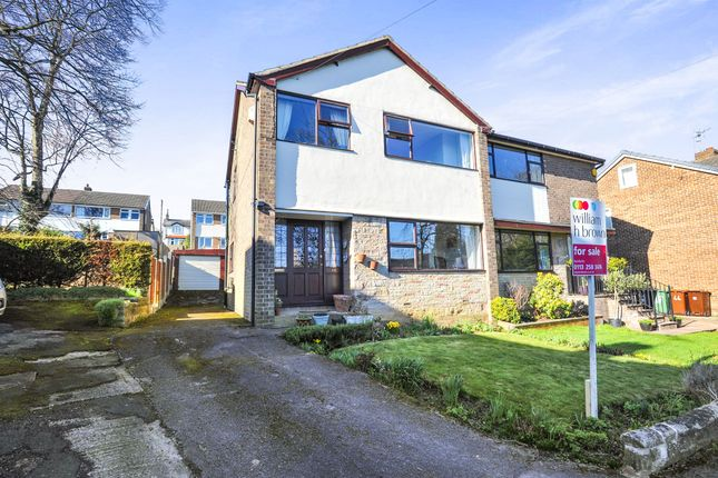 Thumbnail Semi-detached house for sale in Newlay Grove, Horsforth, Leeds