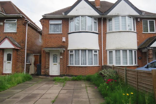 Thumbnail Semi-detached house for sale in Arran Road, Hodge Hill, Birmingham