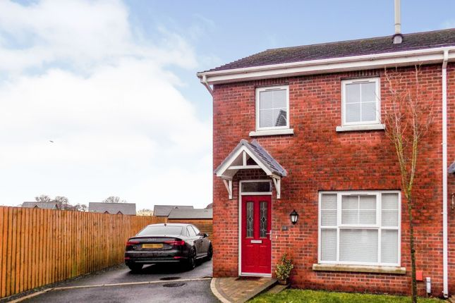 Thumbnail Semi-detached house to rent in Ayrshire Park, Lisburn