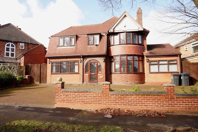 Thumbnail Detached house for sale in Denewood Avenue, Handsworth Wood, Birmingham