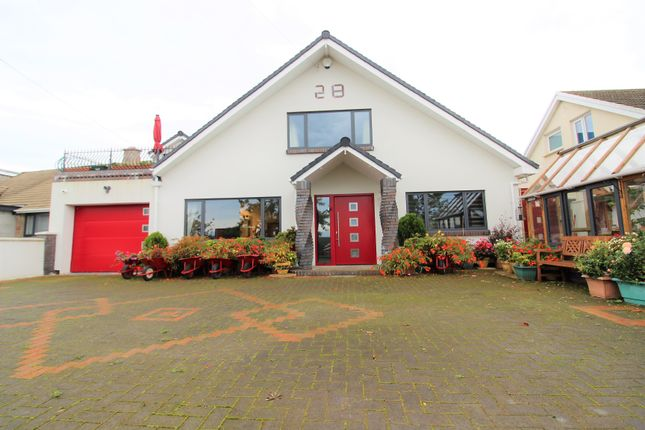 Thumbnail Detached house for sale in Cog Road, Sully, Penarth