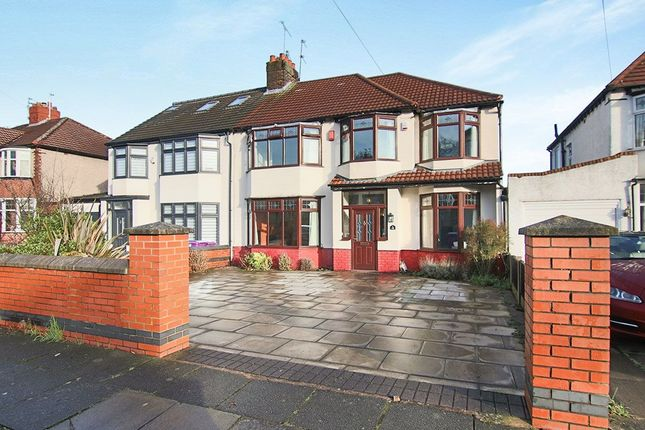 Thumbnail Semi-detached house for sale in Whinmoor Road, West Derby, Liverpool