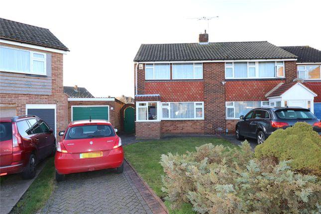 Thumbnail Semi-detached house for sale in Calvert Close, Belvedere, Kent