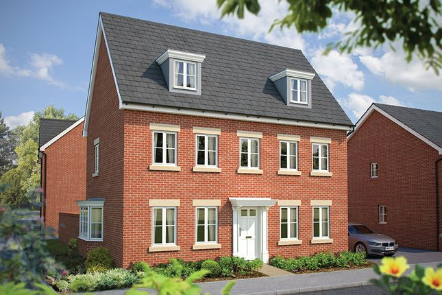 """Thumbnail Detached house for sale in """"The Warwick"""" at Maddoxford Lane, Botley, Southampton"""