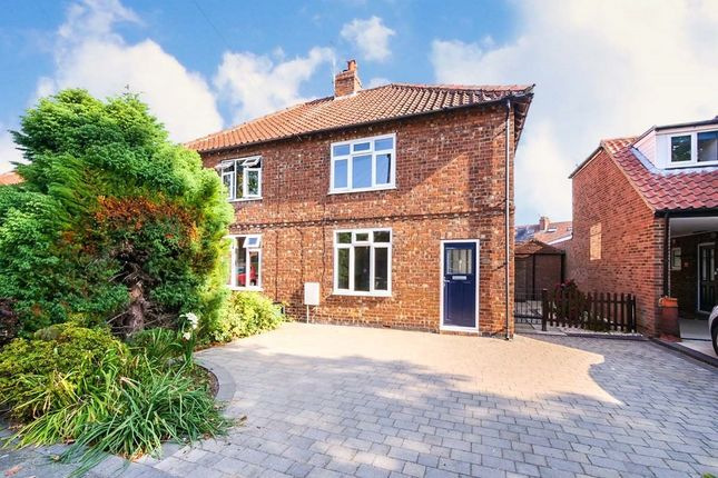 2 bed semi-detached house to rent in Maple Avenue, Bishopthorpe, York YO23
