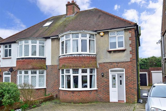 Thumbnail Semi-detached house for sale in Foredown Drive, Portslade, East Sussex