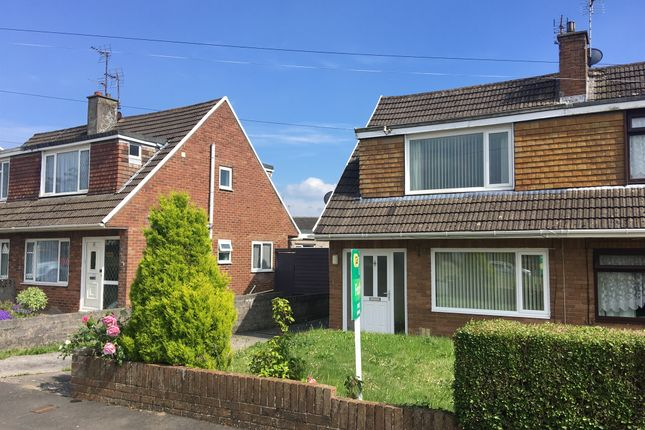 Thumbnail Semi-detached house for sale in Heol Fawr, North Cornelly, Bridgend