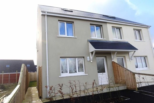 Thumbnail Semi-detached house for sale in Crug Yr Efydd, Crymych, Pembrokeshire
