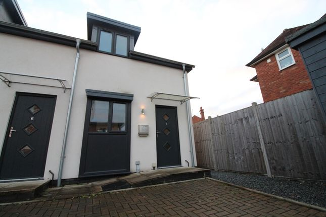 Thumbnail End terrace house to rent in The Quadrangle, St. Owen Street, Hereford