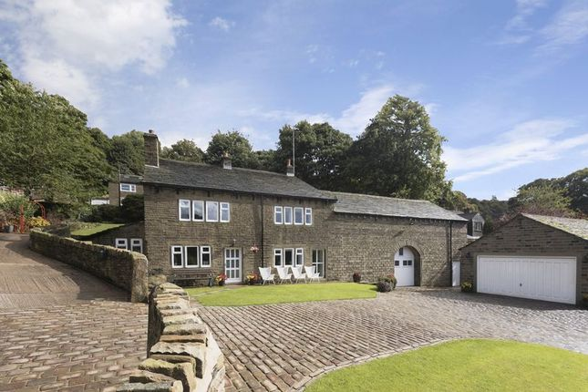 Thumbnail Detached house for sale in Upper Snow Lea Farm, Lamb Hall Road, Huddersfield