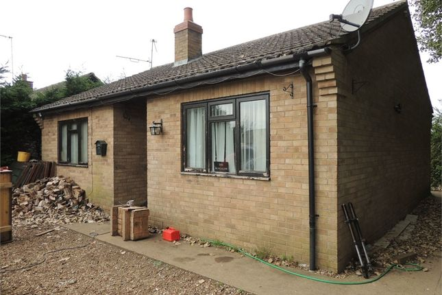 Thumbnail Detached bungalow for sale in Station Road, West Dereham, King's Lynn