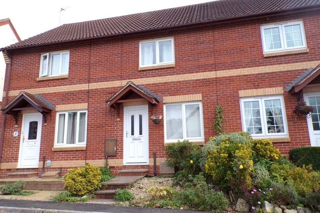 Thumbnail Terraced house for sale in Wordsworth Close, Exmouth